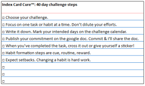 40 day challenge ICC