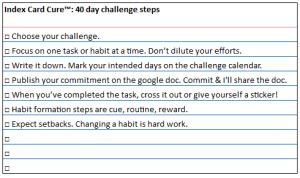 40 day challenge ICC