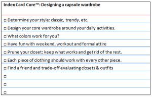 icc capsule wardrobe