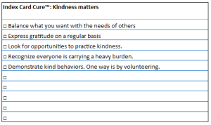 ICC kindness matters