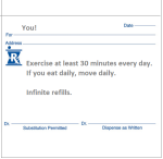 rx exercise