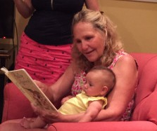 reading to Eliza