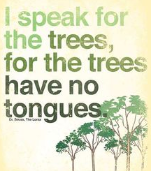 trees have no tongues